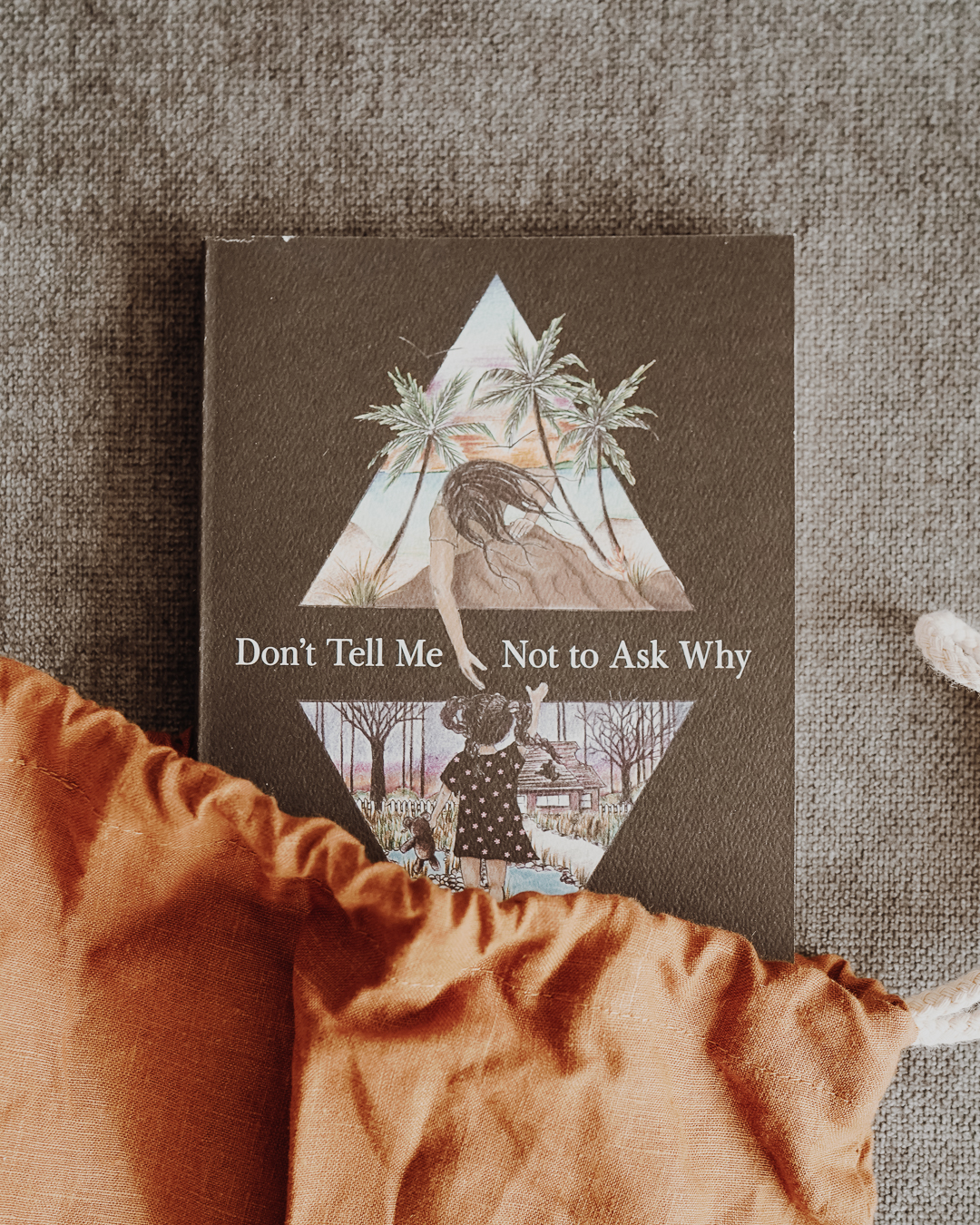 Don't Tell Me Not to Ask Why , Samantha King Holmes's second solo poetry collection following her bestselling  Born to Love, Cursed to Feel , is a mirror that reflects our honest truths. Holmes's poems are like little stories, hooking readers while navigating issues like body image, family relationships, loneliness, failed relationships, and finding belonging.  Don't Tell Me Not to Ask Why  is a call to introspection, a demand for honesty, and an affirmation of second chances.