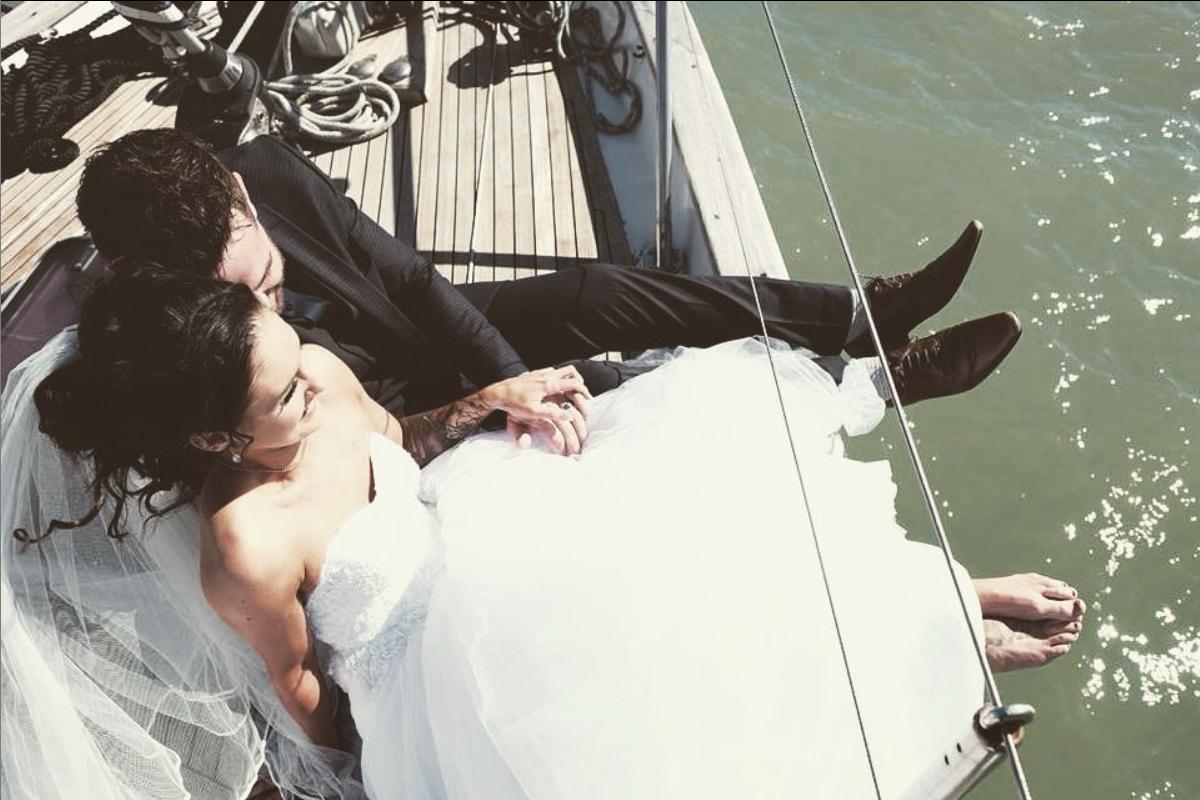 Boat Wedding France