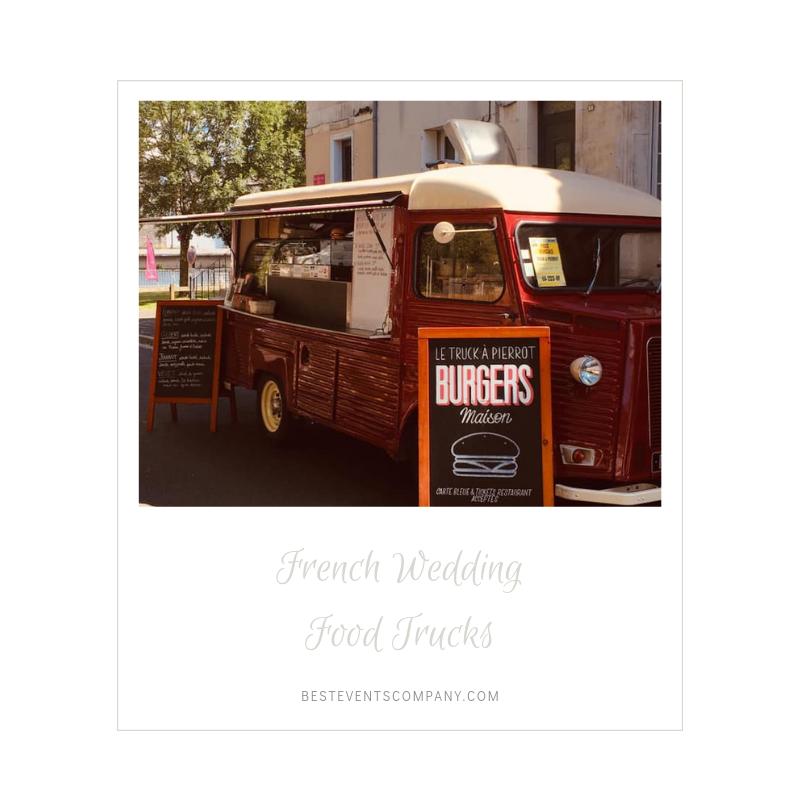 food truck French wedding