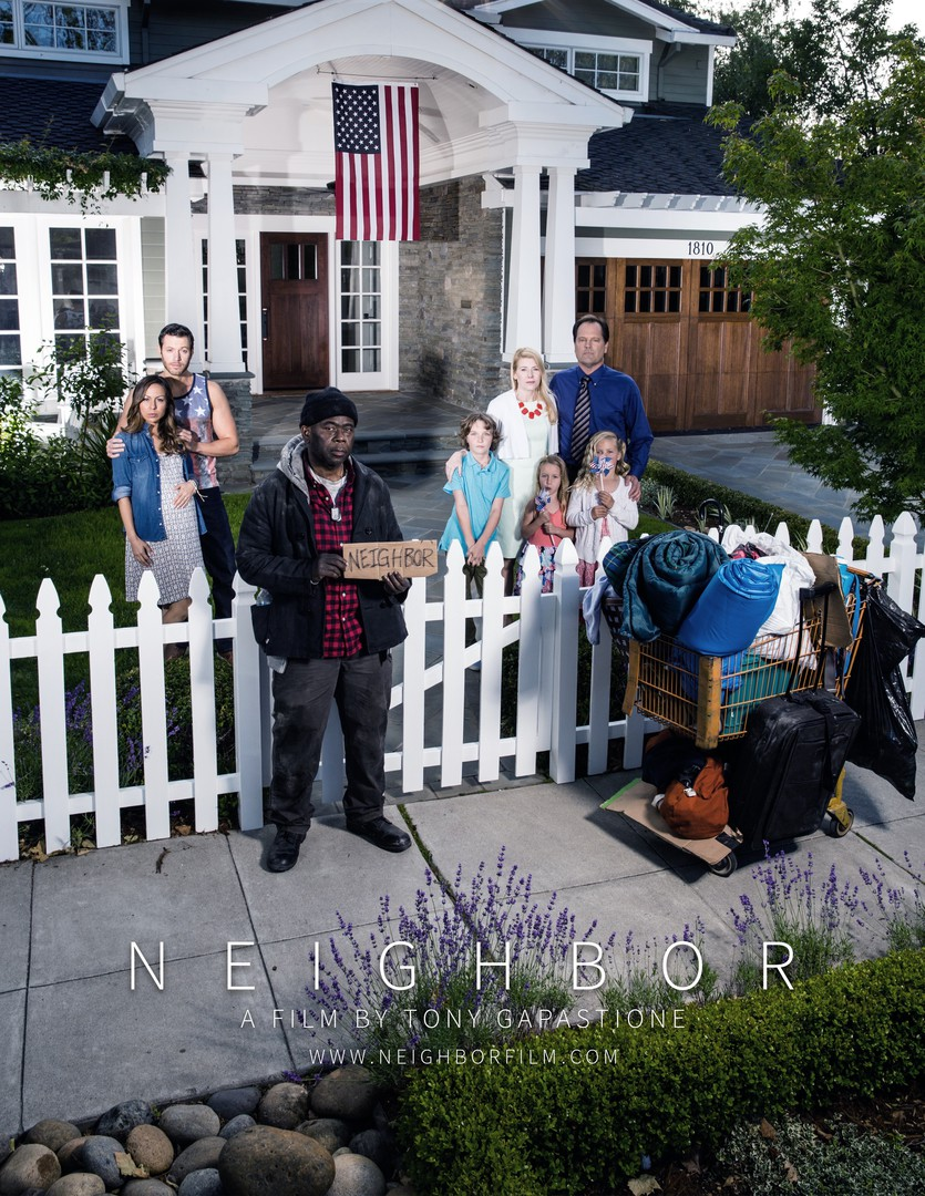 Neighbor - a short film by Tony Gapastione (BTS)
