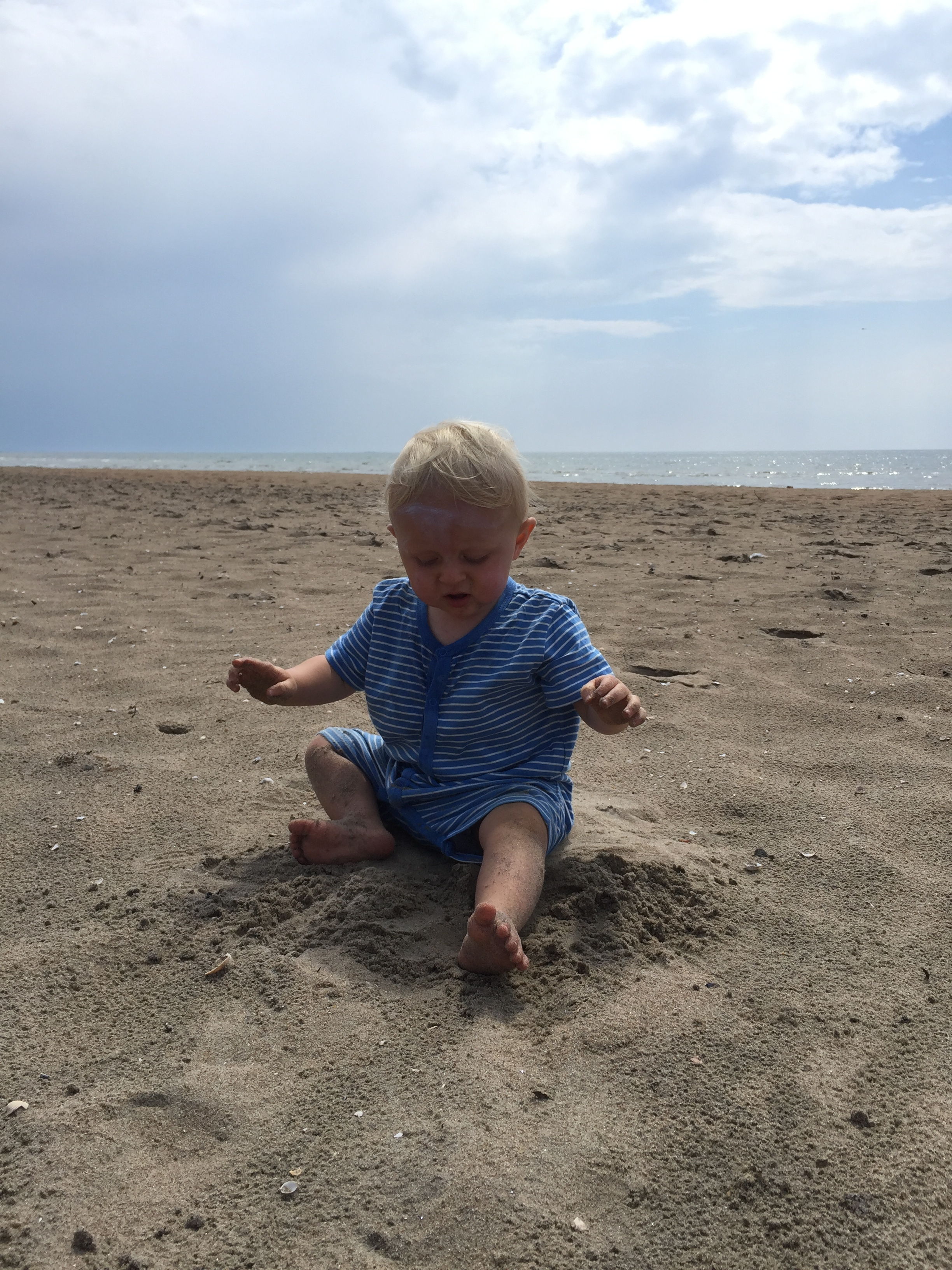 What's up with all this sand? It gets everywhere...