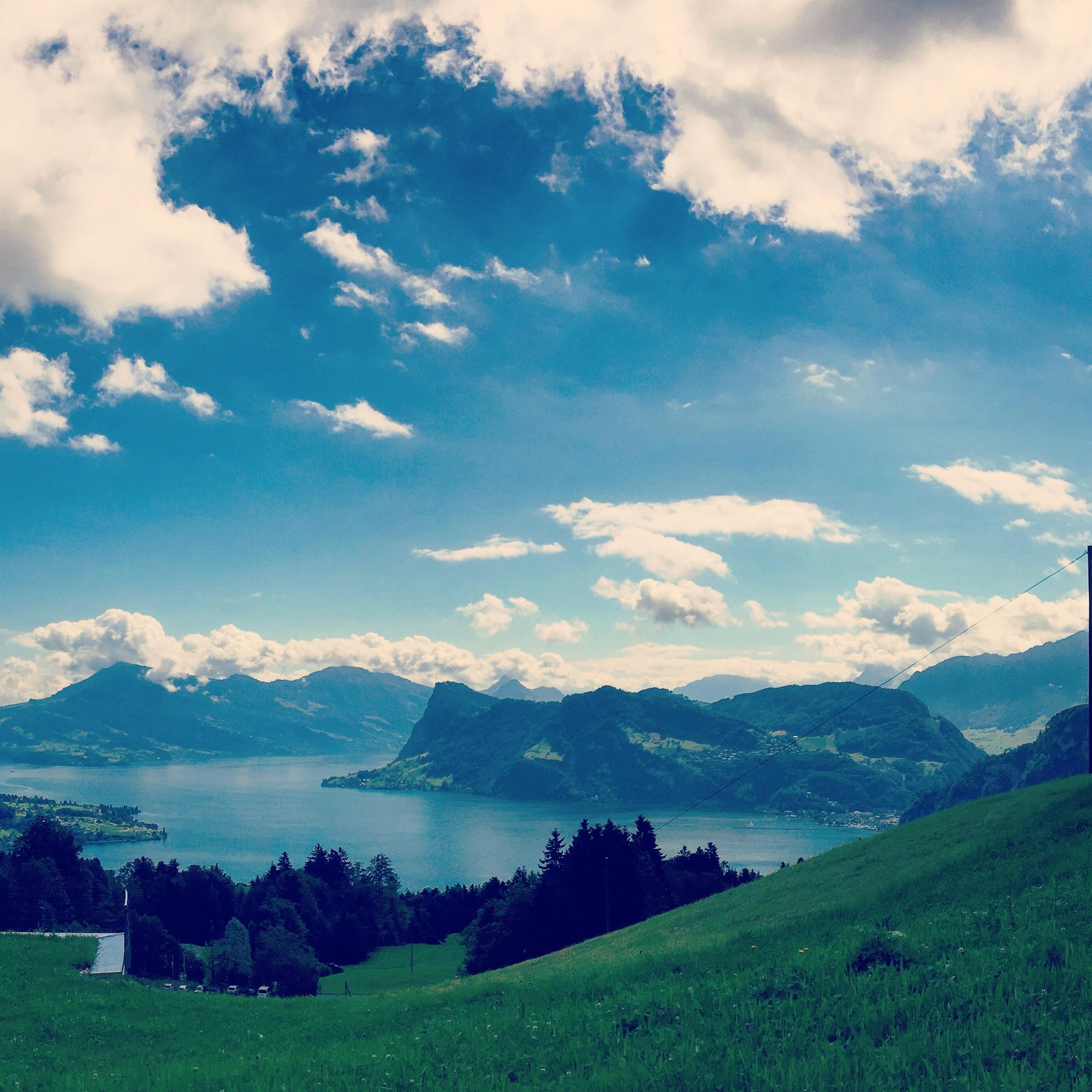 Hiking in Switzerland for my mom's 60th birthday