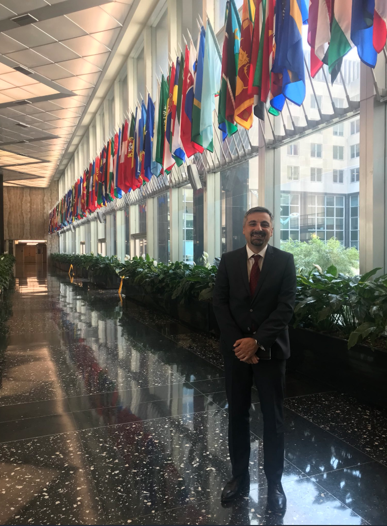 Visiting State Department
