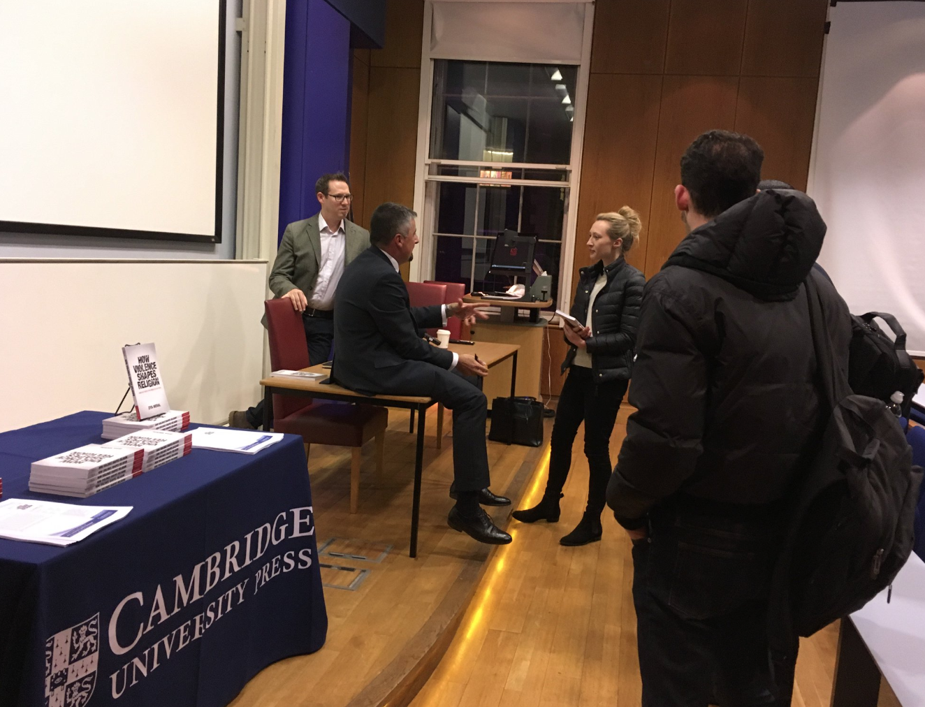Book launch at King's College London