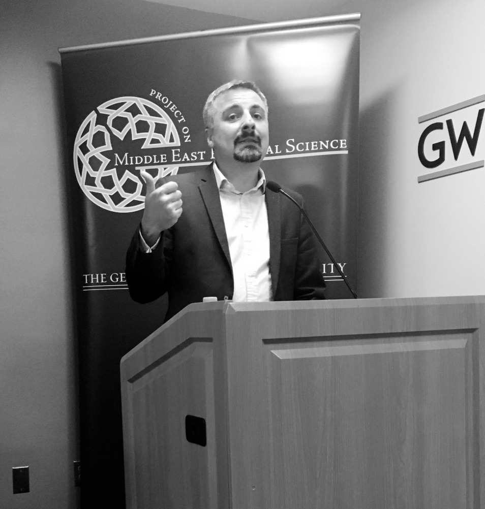 Book launch at GW in Washington DC