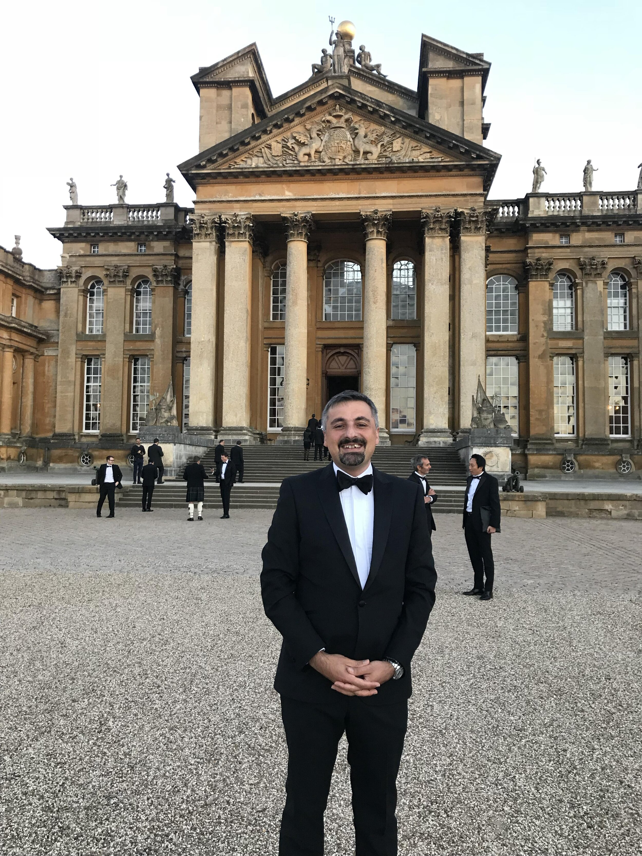 Annual dinner at Blenheim Palace with Oxford Analytica