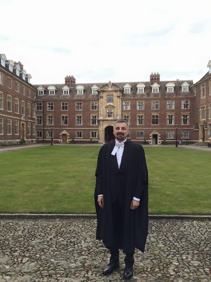 Graduating, Cambridge