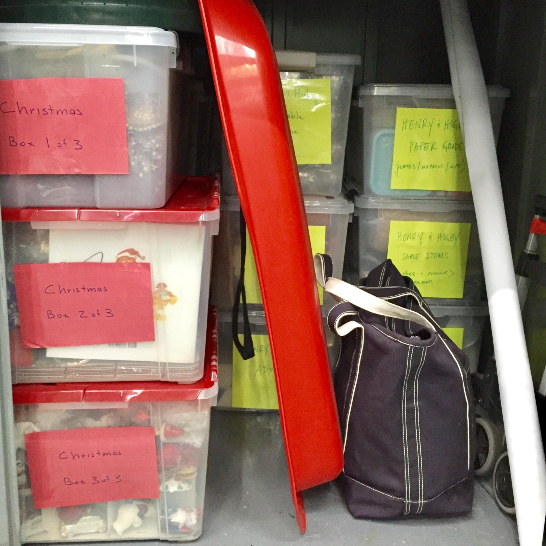 Henry & Higby_organizing your storage unit