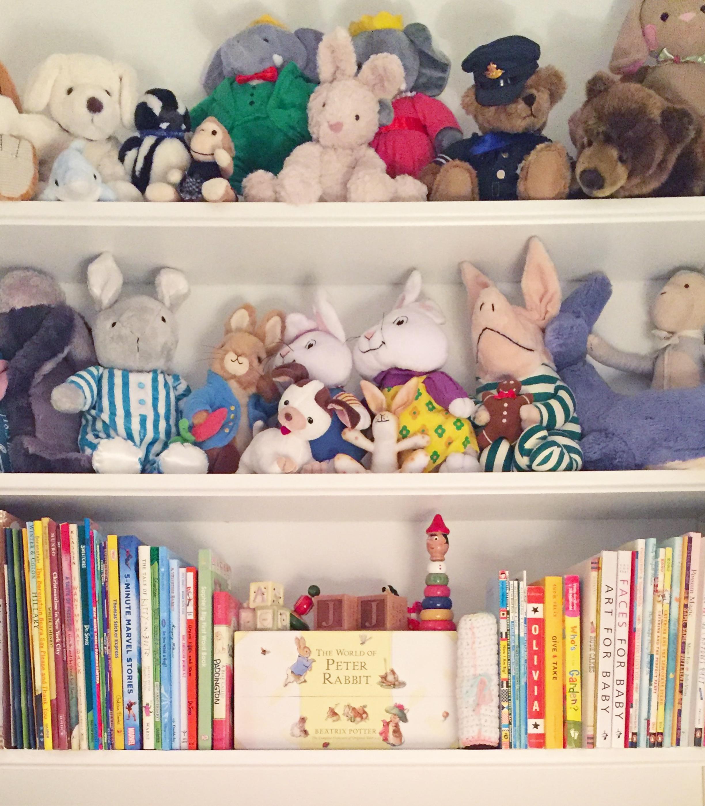 Henry & Higby_Organized Bookcase.JPG