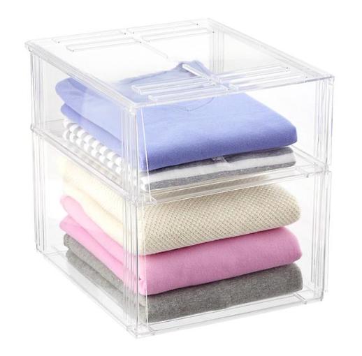 Premium Stackable Shirt & Sweater Bins