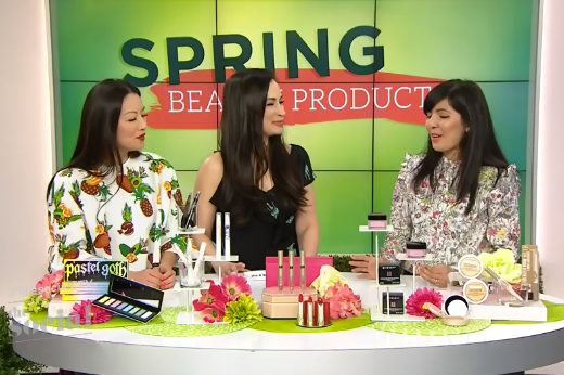 The Social:    Exciting new products to help you get ready for spring .  Air date:  April 4, 2017