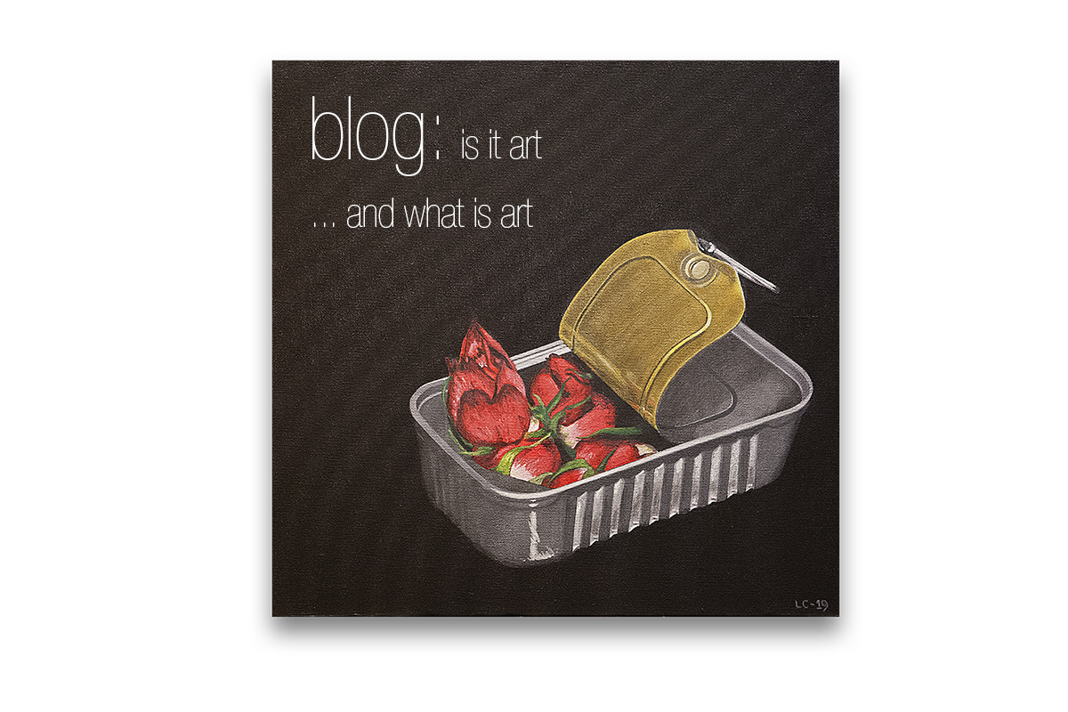 Blog:  is it art …and what is art
