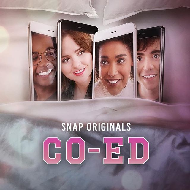 teamed up with @markduplass to make #CoEd, now available on snapchat! link in bio, subscribe and enjoy!