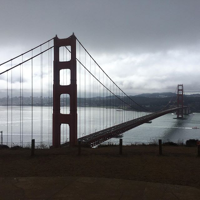 The weather over the last few days has made for some very dramatic views of the Golden Gate Bridge!