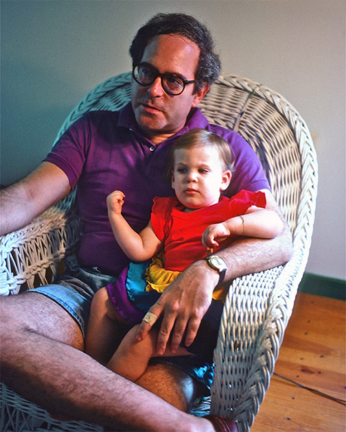 A Portrait of the Artist as a Young Man with a Portrait of Another Artist as a Lil Baby
