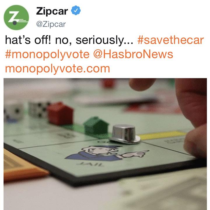 ZIPCAR + MONOPOLY