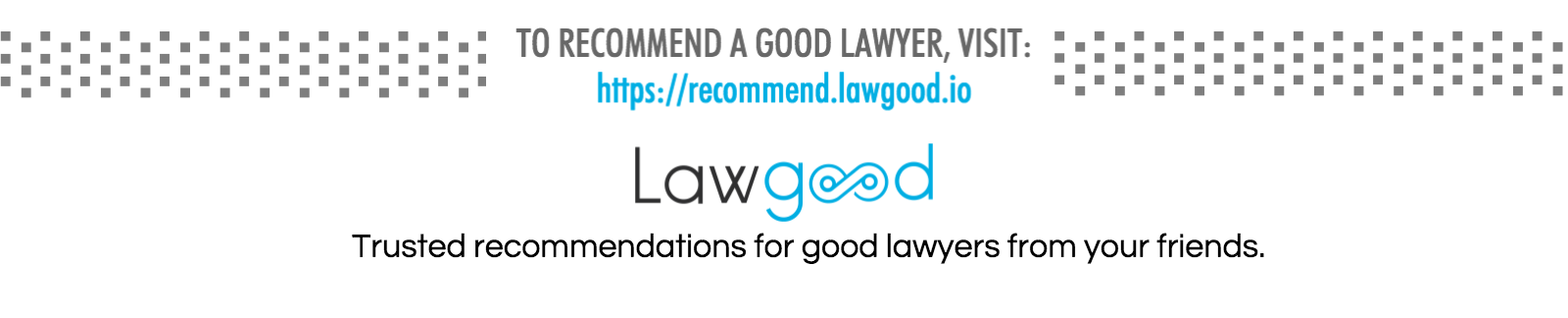 Lawgood recommend lawyer