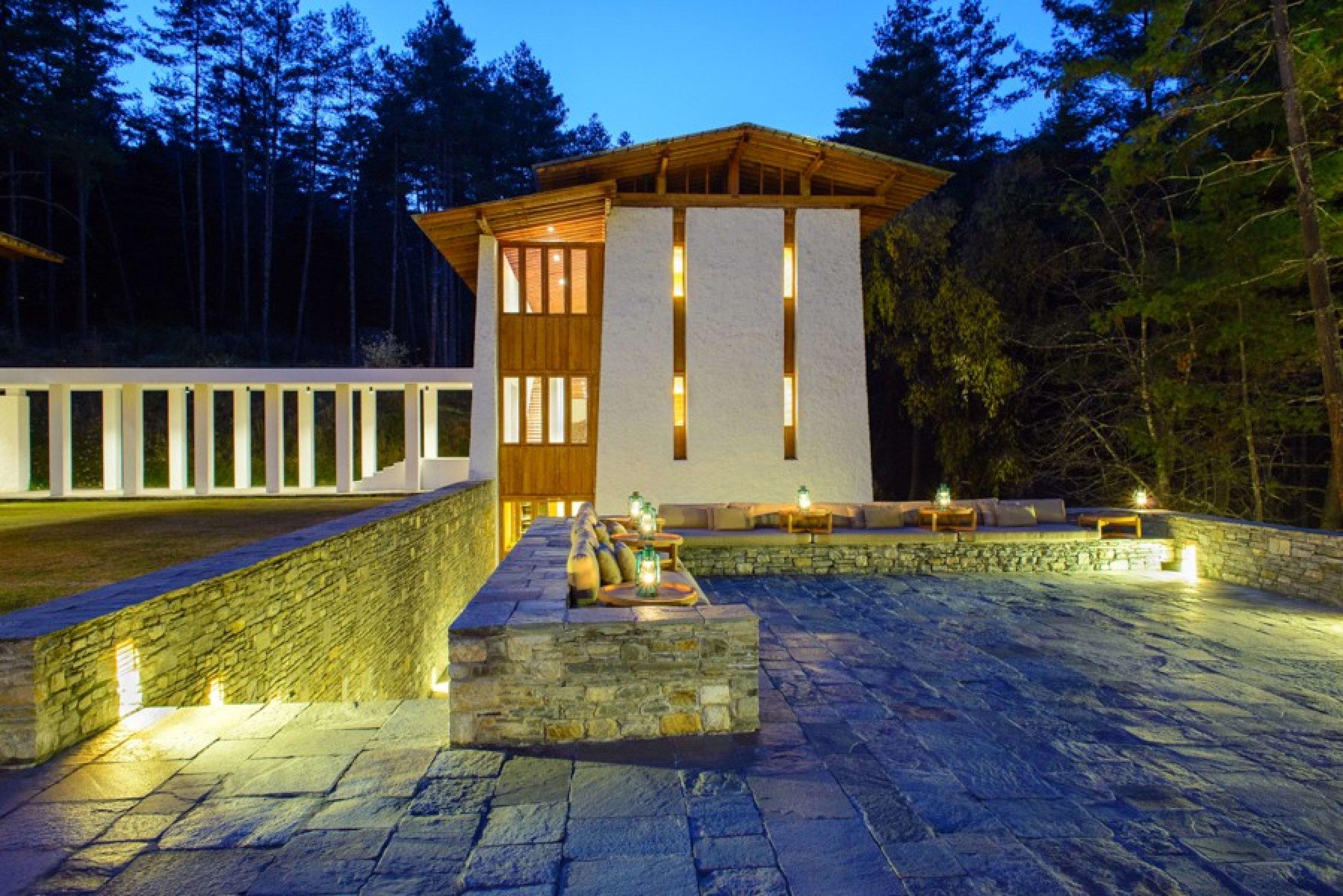 7 Thimphu Lodge Exterior Night_1400x600.jpg