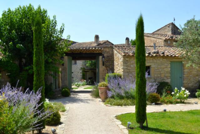 le ferme de la huppe, a restored eighteenth-century farmhouse near gordes