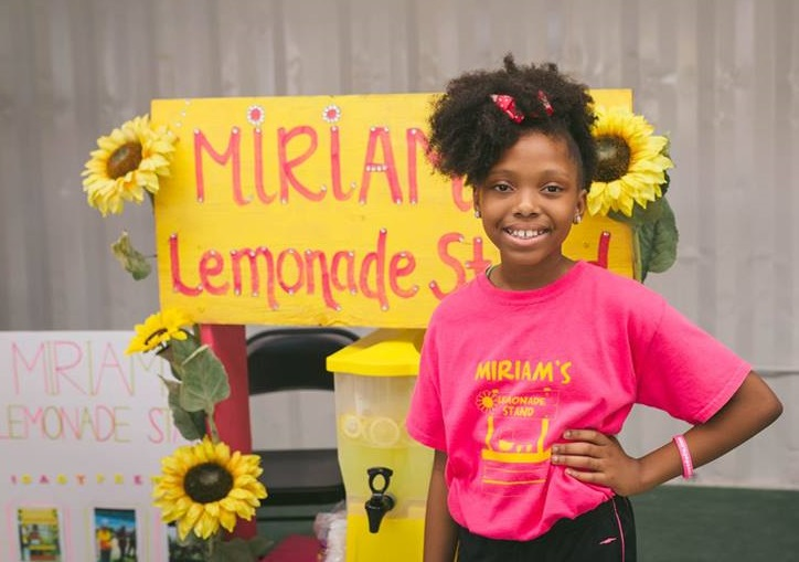 A young entrepreneur at Kids Entrepreneur Day 2018 (photo by Jacqueline Bermudez)