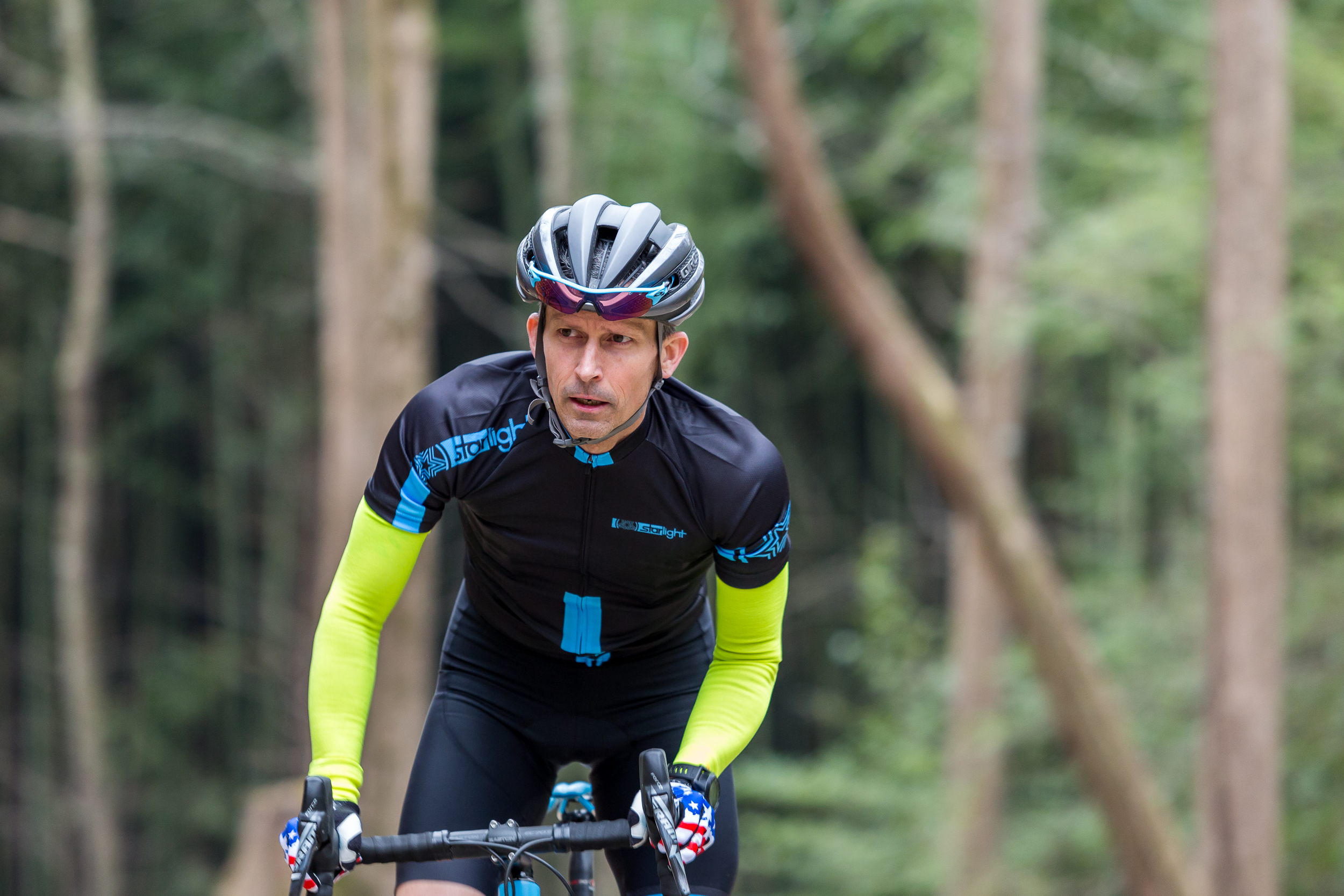 """Jeff """"Old Pro"""" Welch - owner, bike builder, chief product tester"""