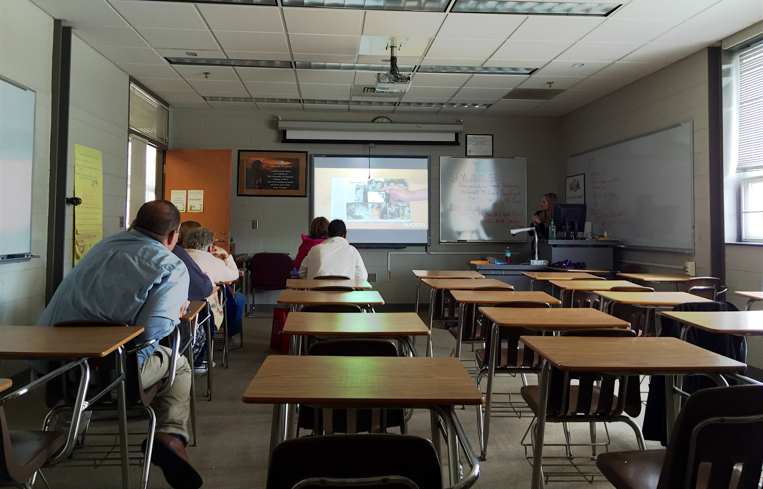 Presenting at The Southwest Virginia Early Childhood Conference on Augmented Reality.