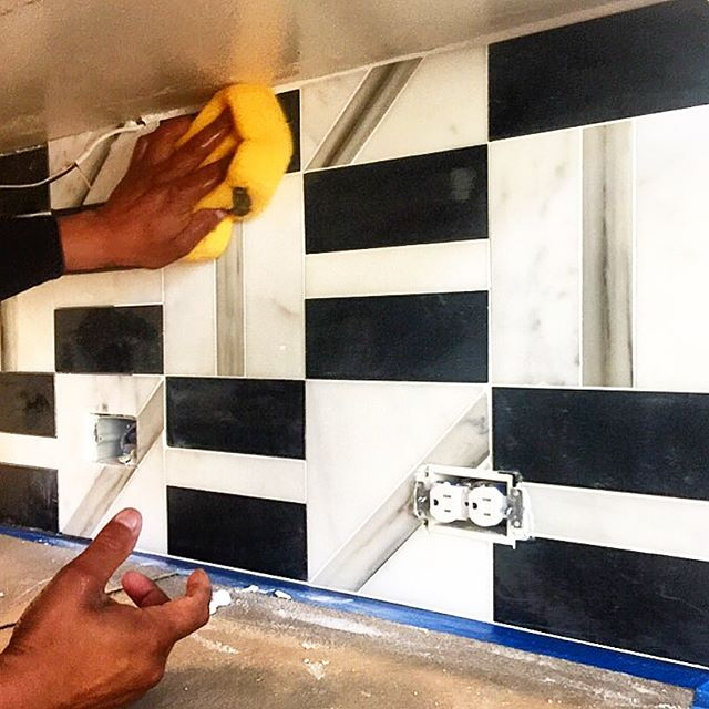 Cheers to early mornings and to all the skilled hands that touch every project, but don't receive public praise. We couldn't deliver our visions without your contributions. PeriodT. Have a great week everyone! #interiordesign  #skilledlabor  #msbhowtoluxury