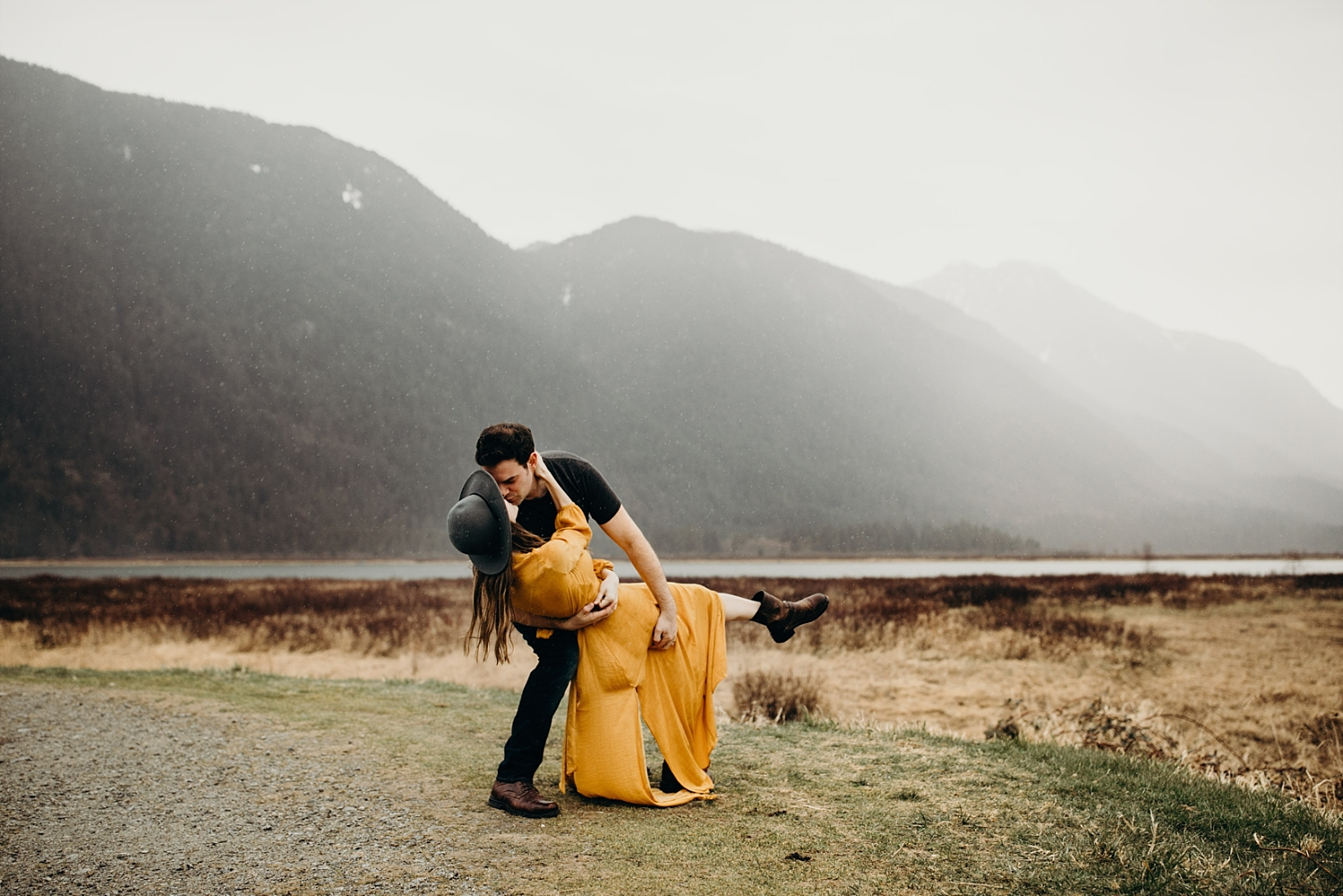 The McLachlans - Vancouver Wedding Photographers - Pitt Lake Engagements - Dan and Alleigra_0005.jpg