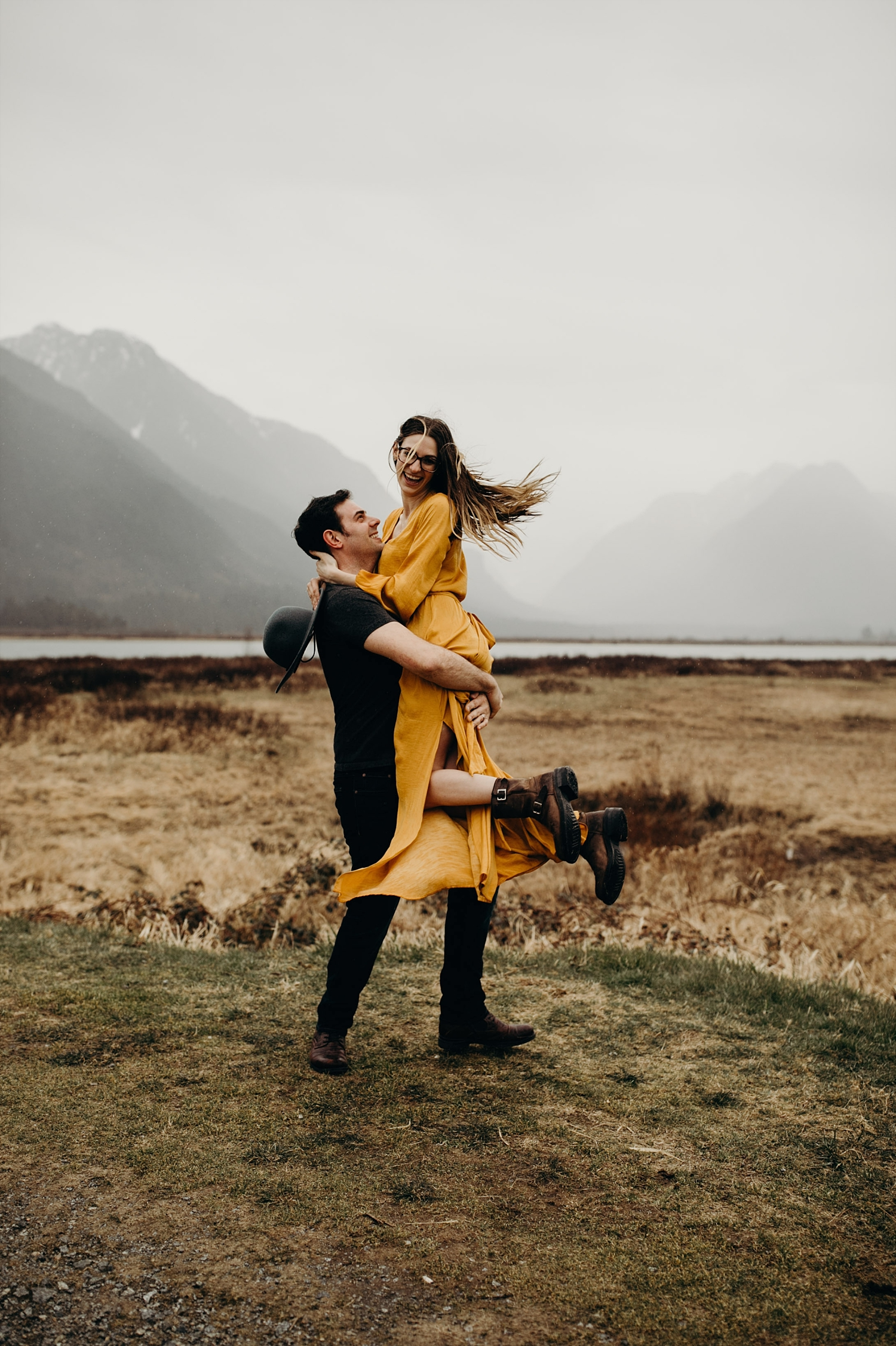The McLachlans - Vancouver Wedding Photographers - Pitt Lake Engagements - Dan and Alleigra_0008.jpg