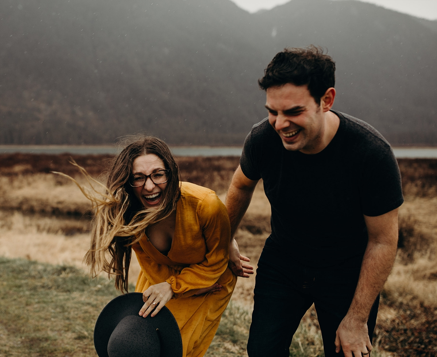 The McLachlans - Vancouver Wedding Photographers - Pitt Lake Engagements - Dan and Alleigra_0013.jpg