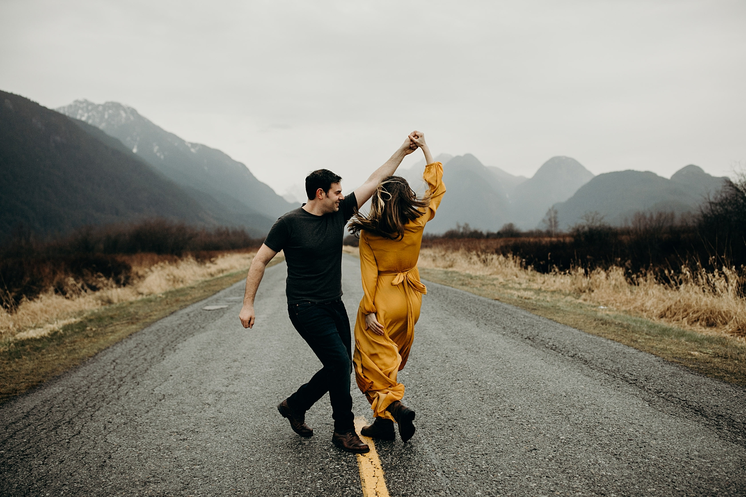 The McLachlans - Vancouver Wedding Photographers - Pitt Lake Engagements - Dan and Alleigra_0020.jpg