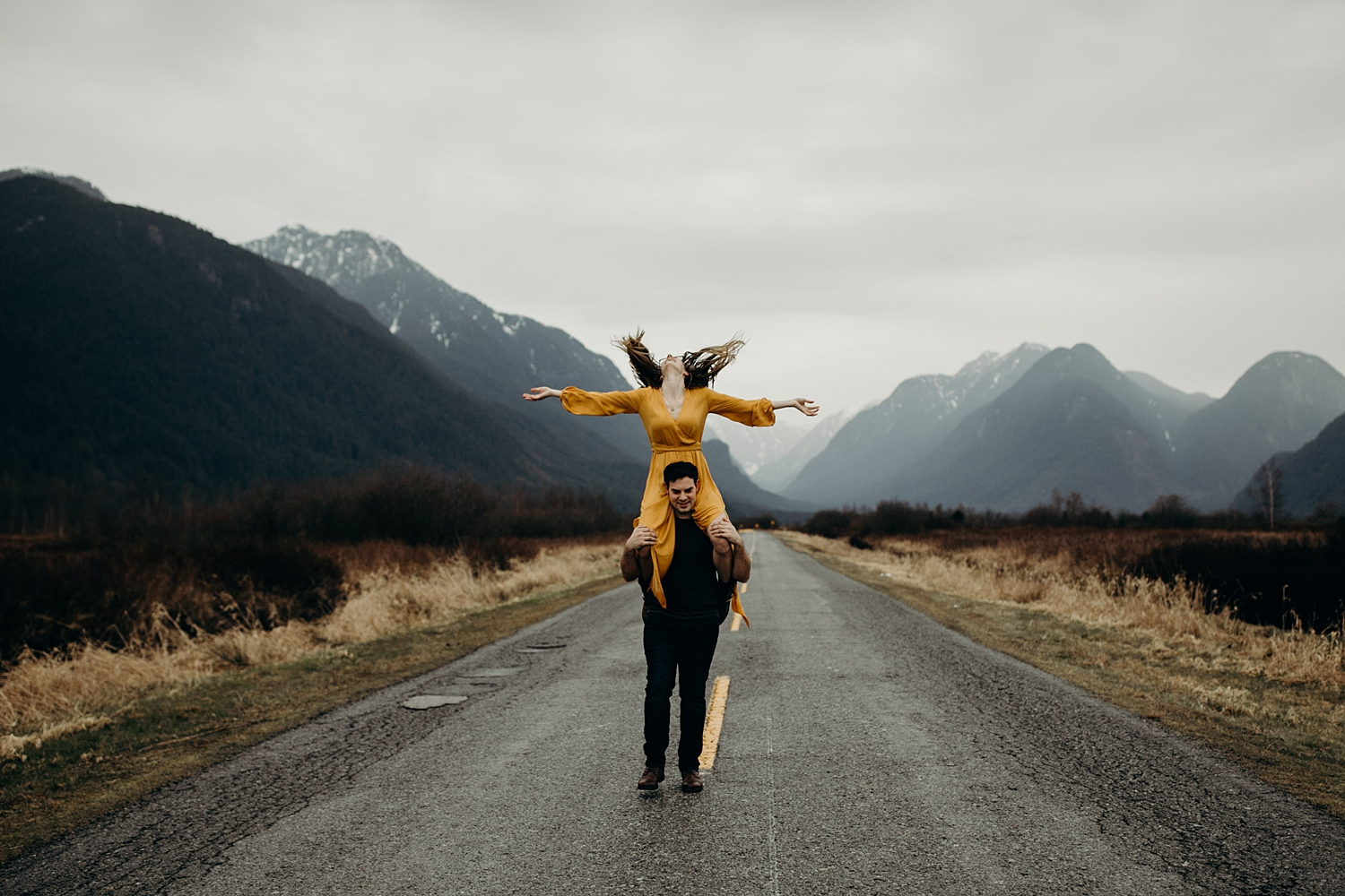 The McLachlans - Vancouver Wedding Photographers - Pitt Lake Engagements - Dan and Alleigra_0027.jpg
