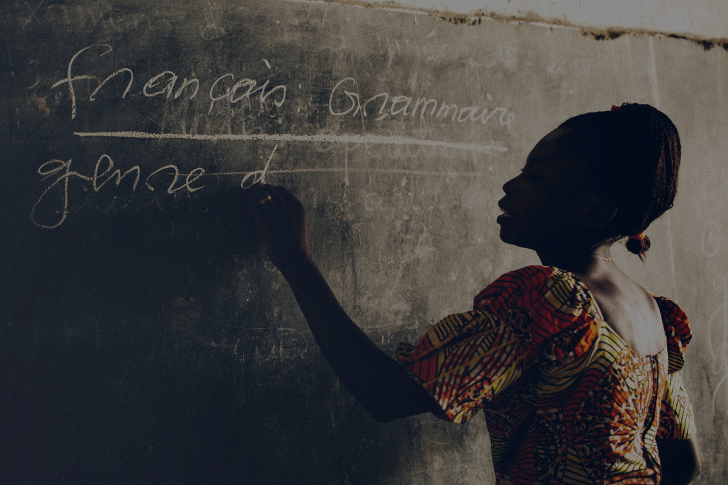 50% - 50% of the world's 27 million out-of-school children are of primary age.