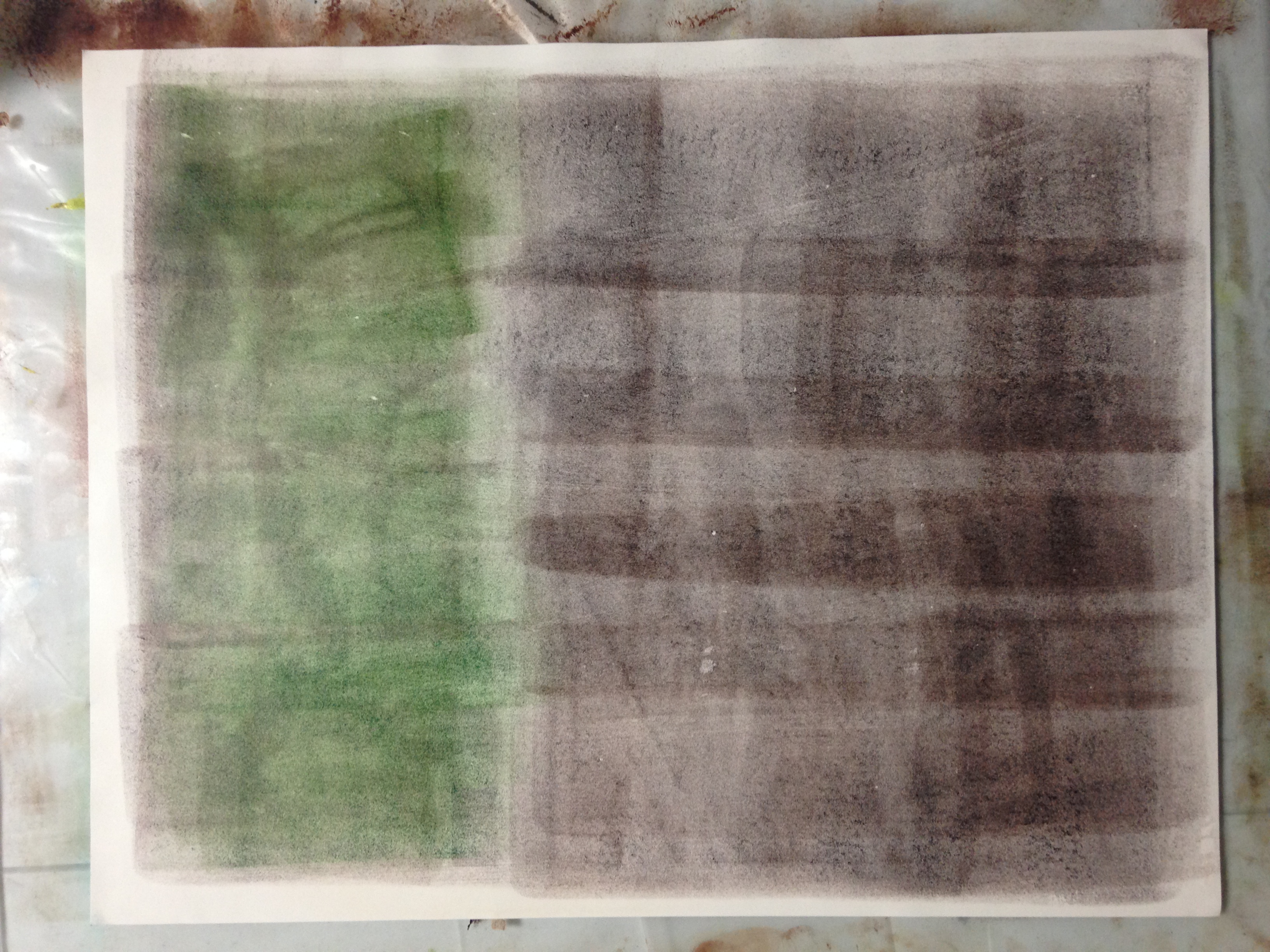 Dual Ink base for artist Maritza Mercado-Narcisse portrait