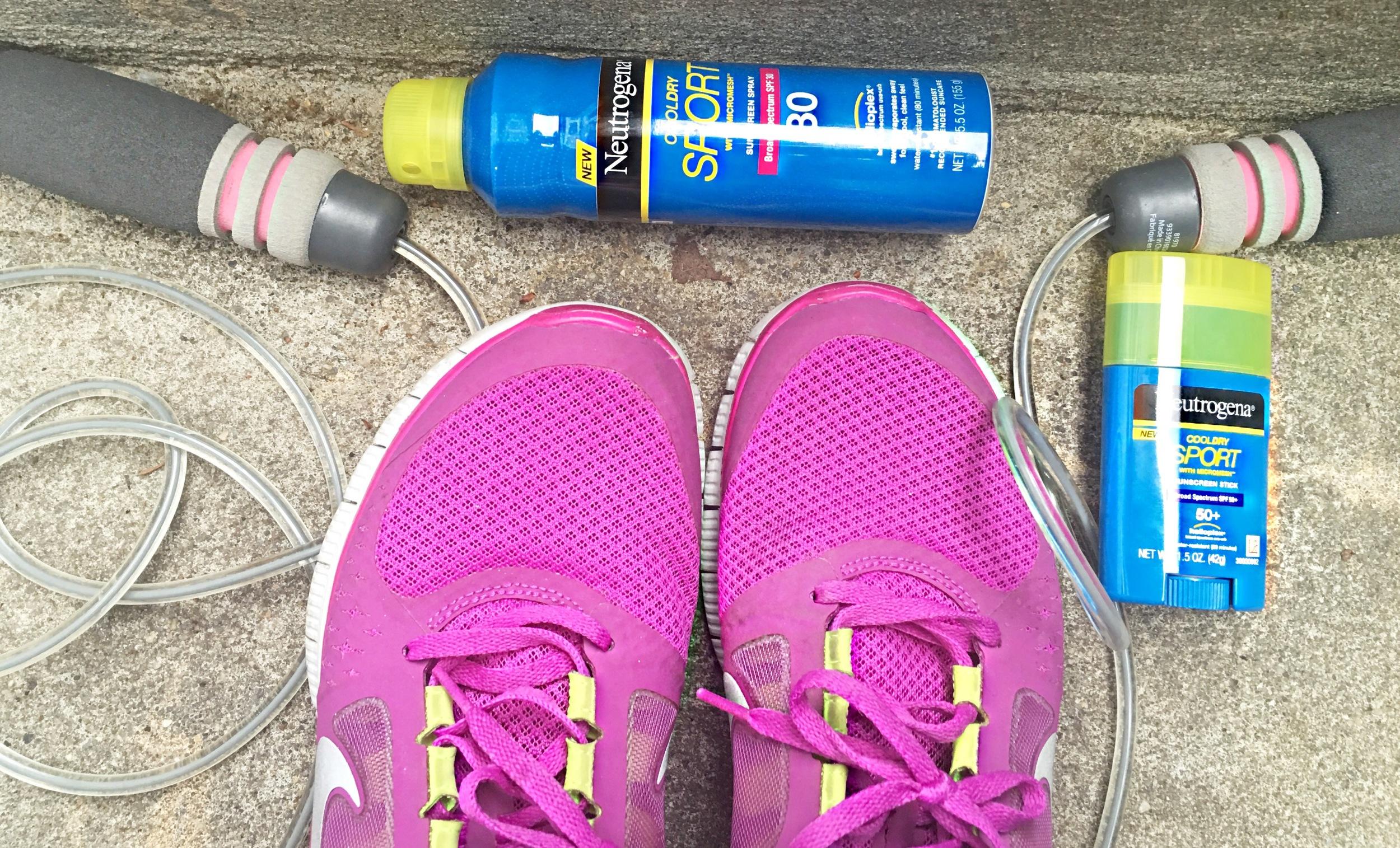 Protegida mientras hago ejercicio