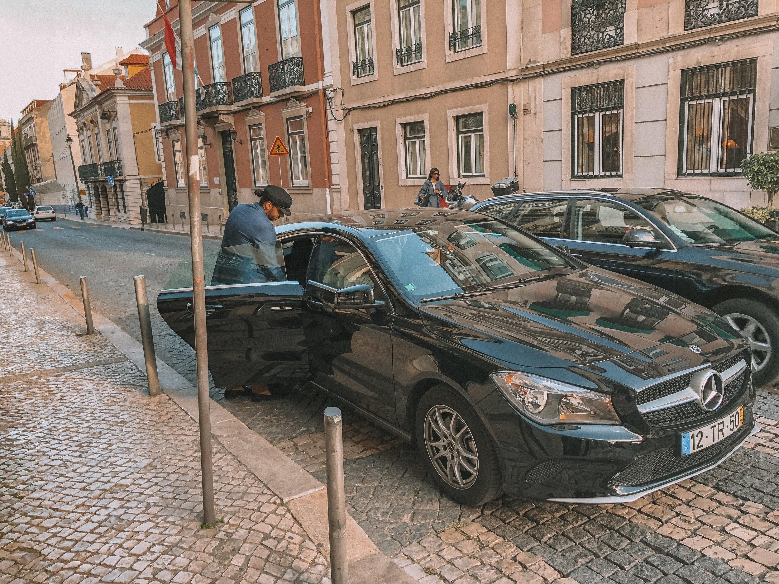 uberX in Lisbon