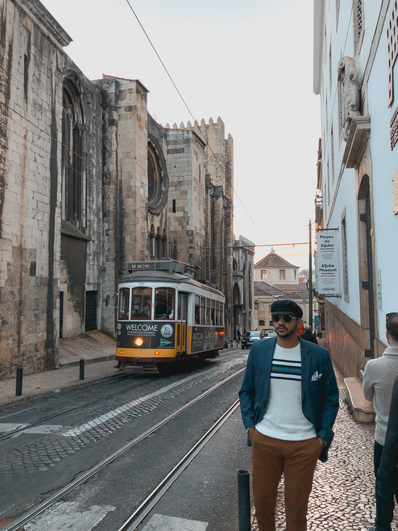 Afternoon walk in Lisbon
