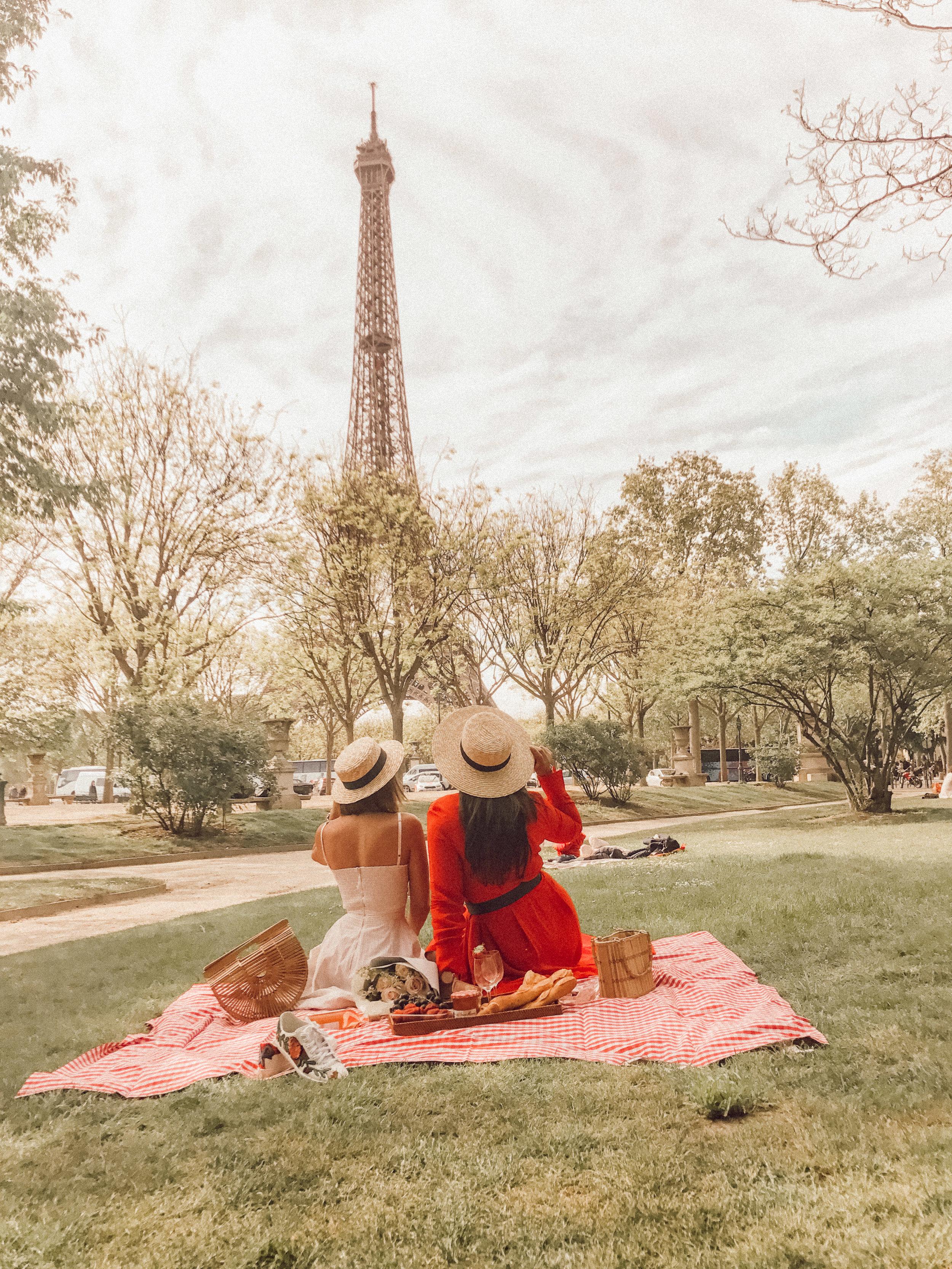 PARISIAN PICNIC WITH  YISNEY TERRERO
