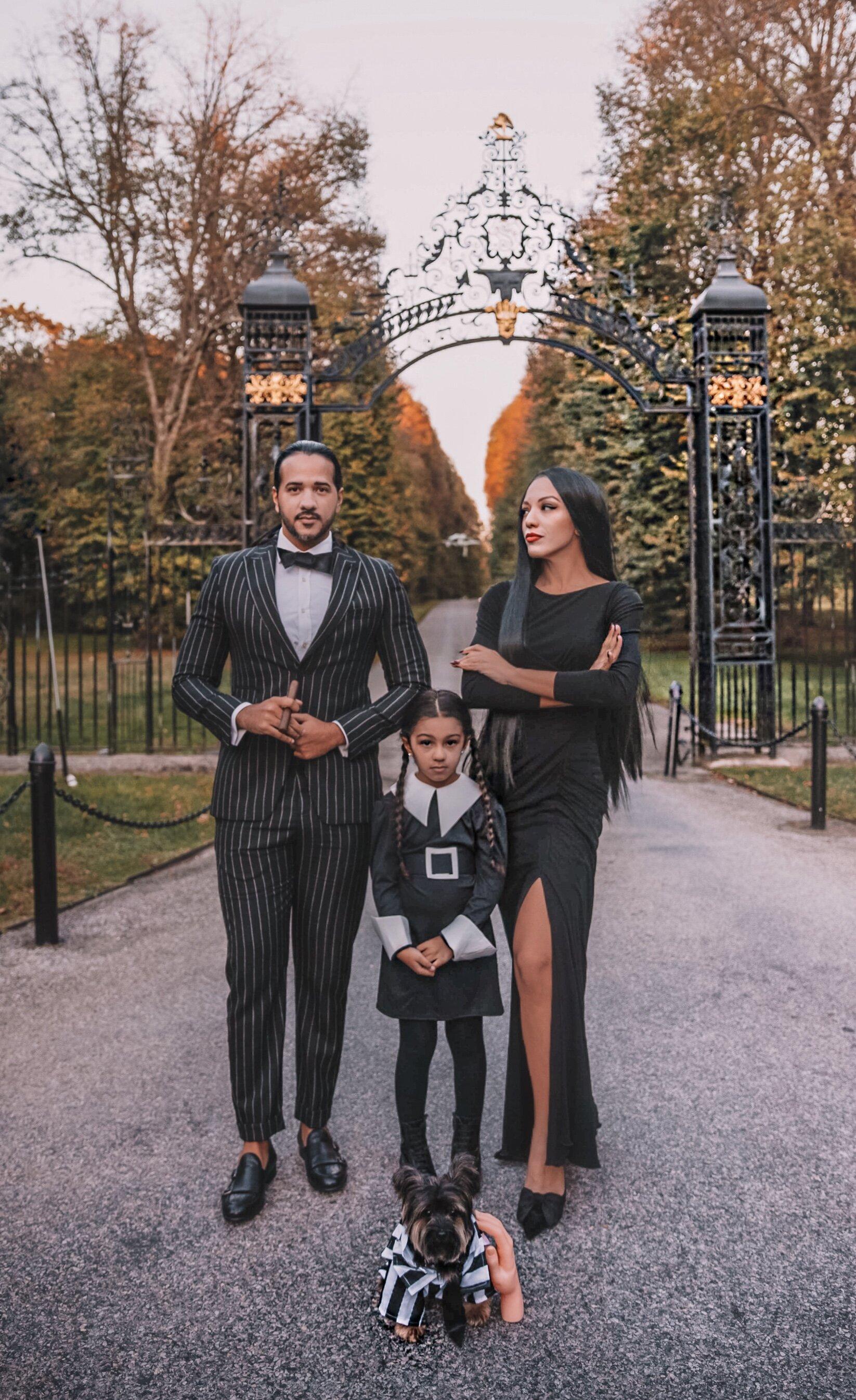 Addams Family Costume Idea