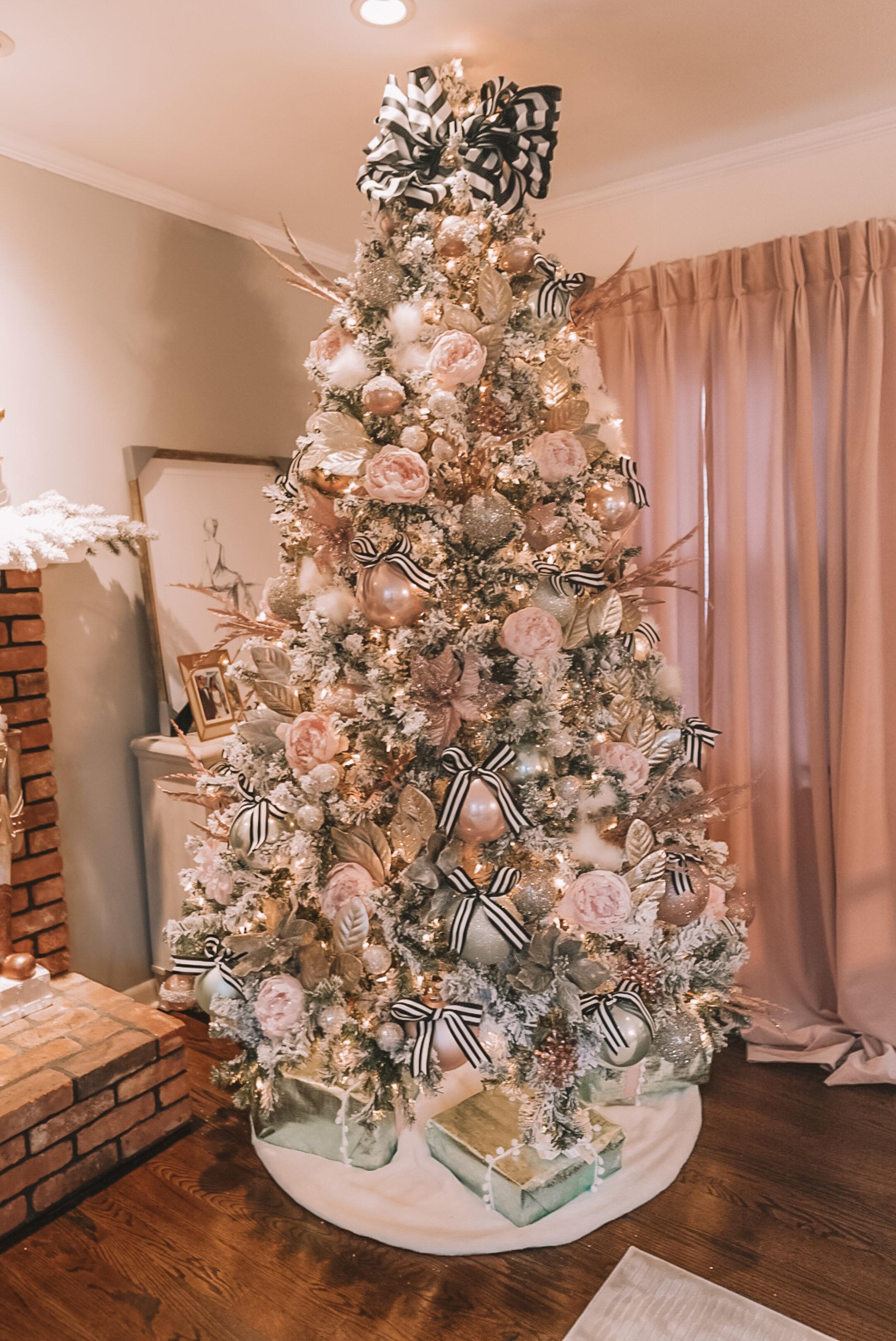 Christmas Tree Decoration Tutorial Glam Dapper
