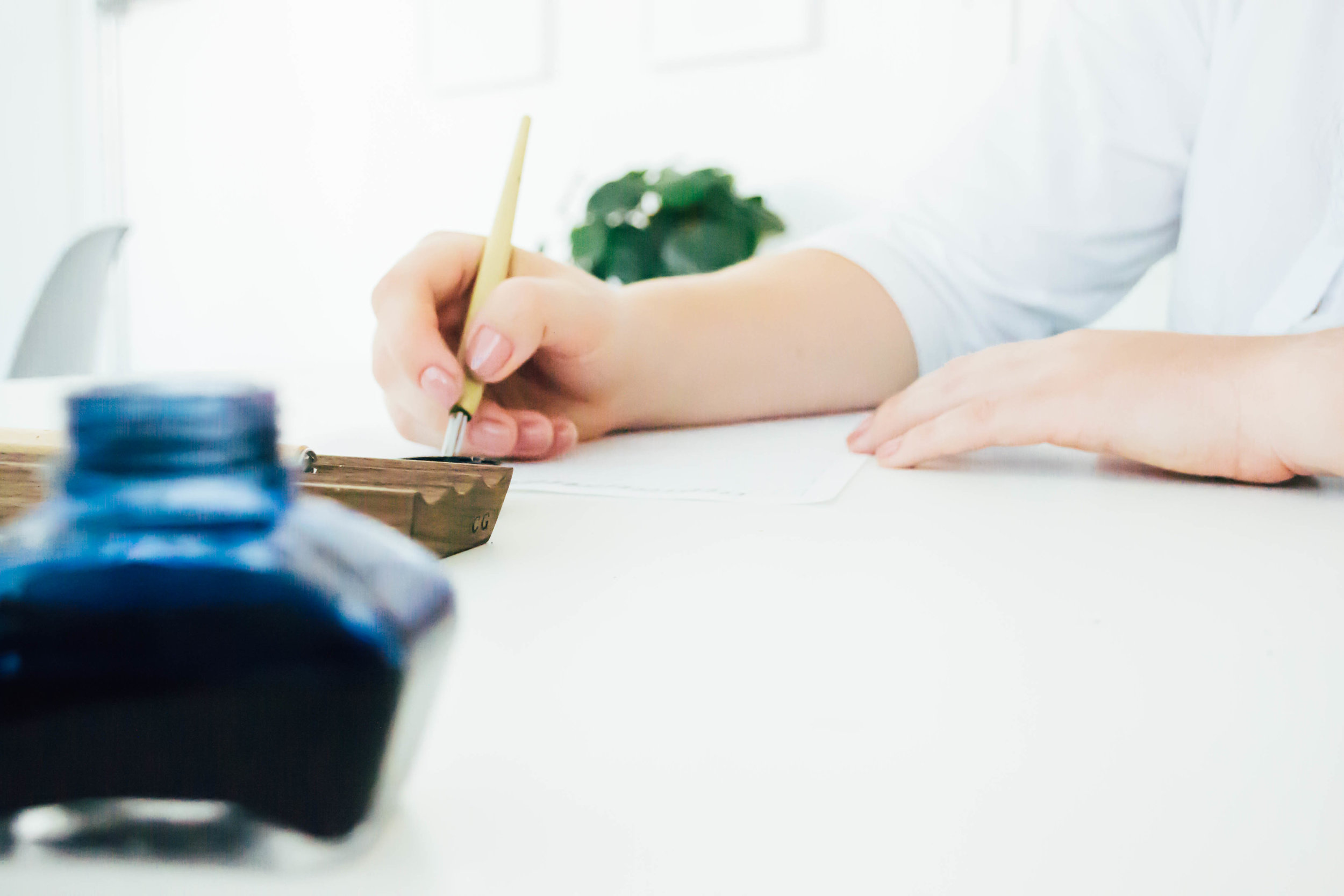 Let's Learn Calligraphy! - The beautiful art of calligraphy doesn't have to be overwhelming, intimidating, or just for