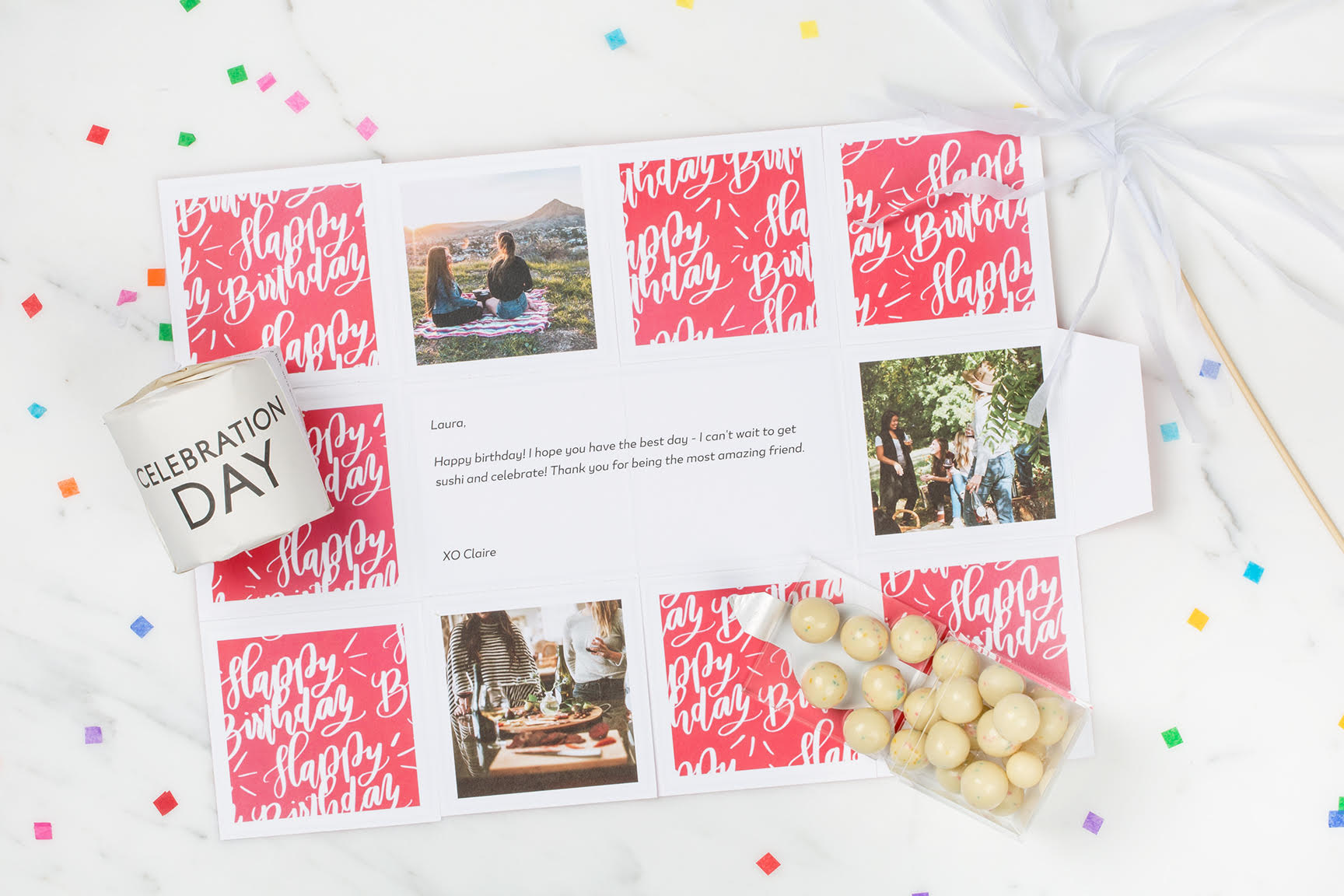 greetabl design - A fun & festive way to celebrate a birthday!