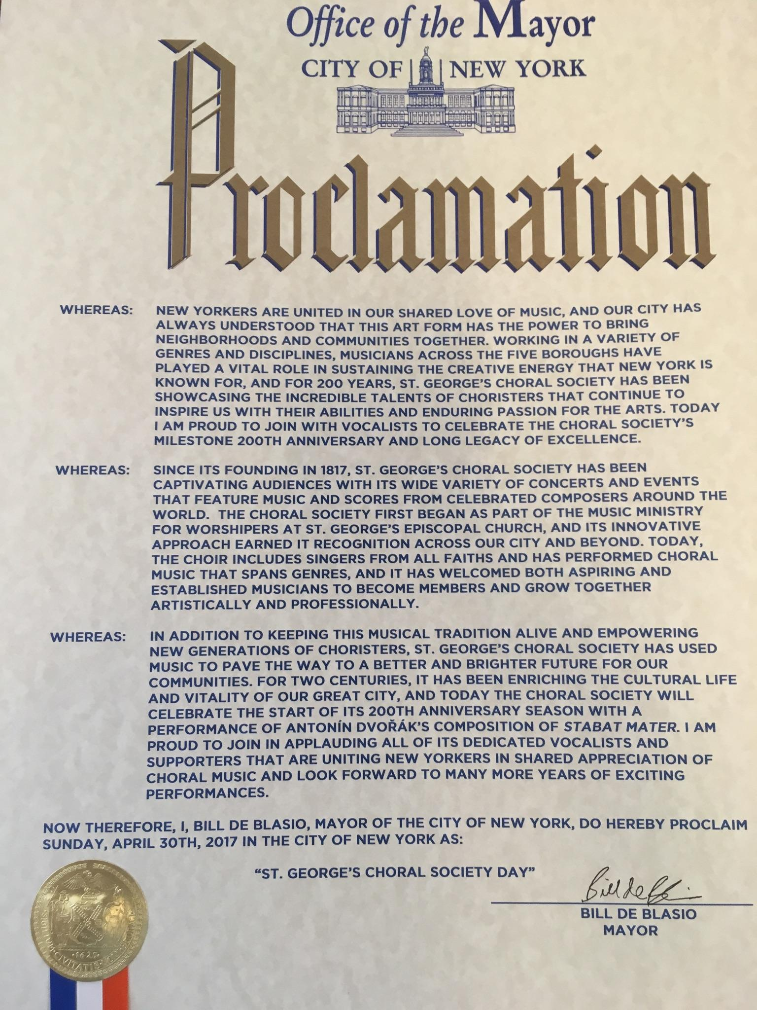 The Proclamation. Click to enlarge.