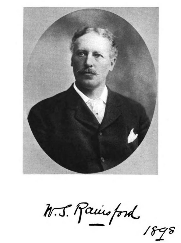 William S. Rainsford, in  The Story of a Varied Life (1922).