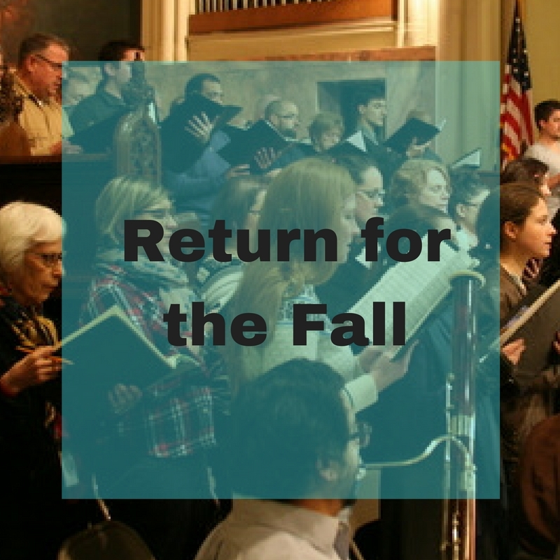 Return for the fall