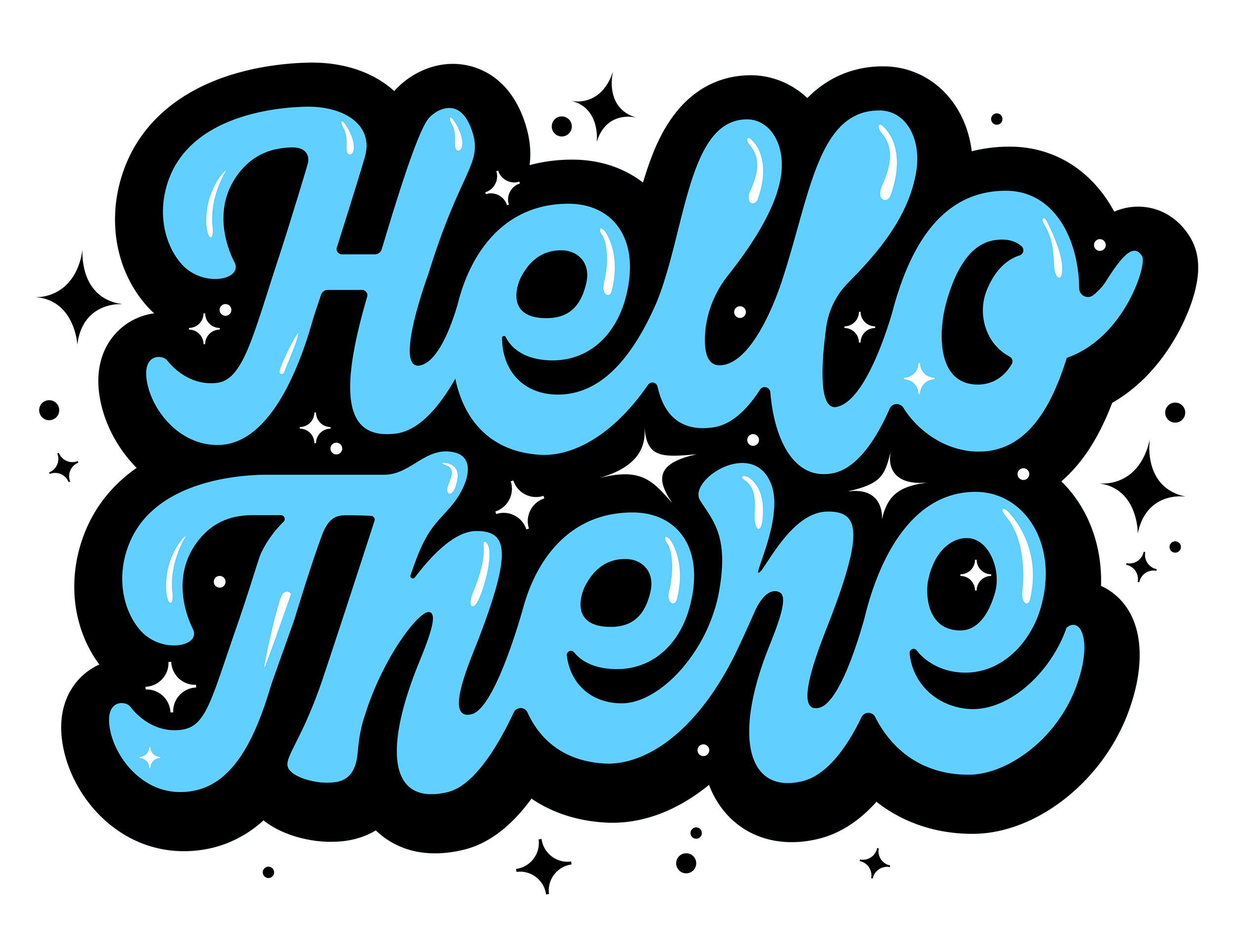 KyleLetendre_Lettering-HelloThere-Bubble