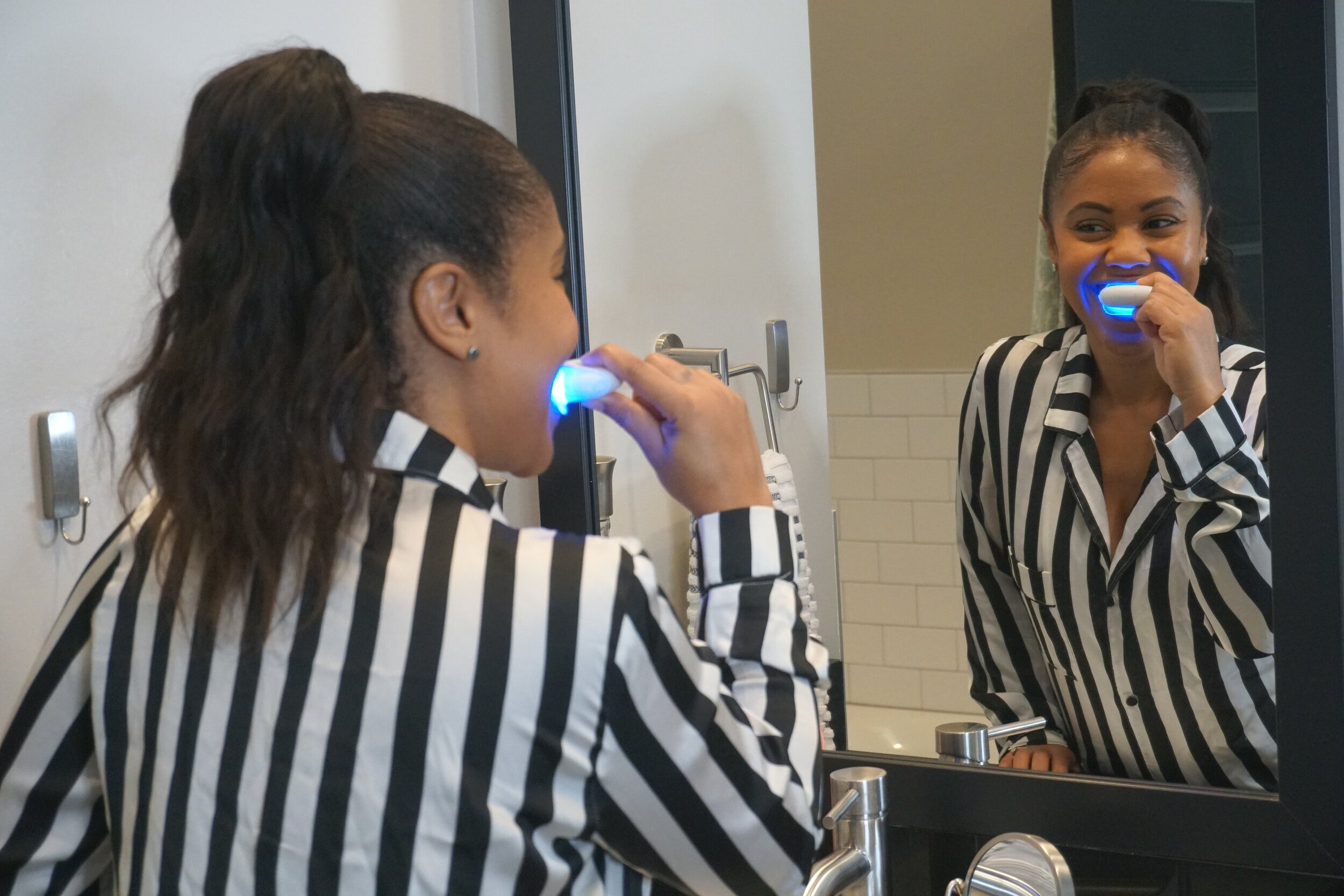 Gleem Electric Toothbrush Whitening Kit Review Majesty Acheampong