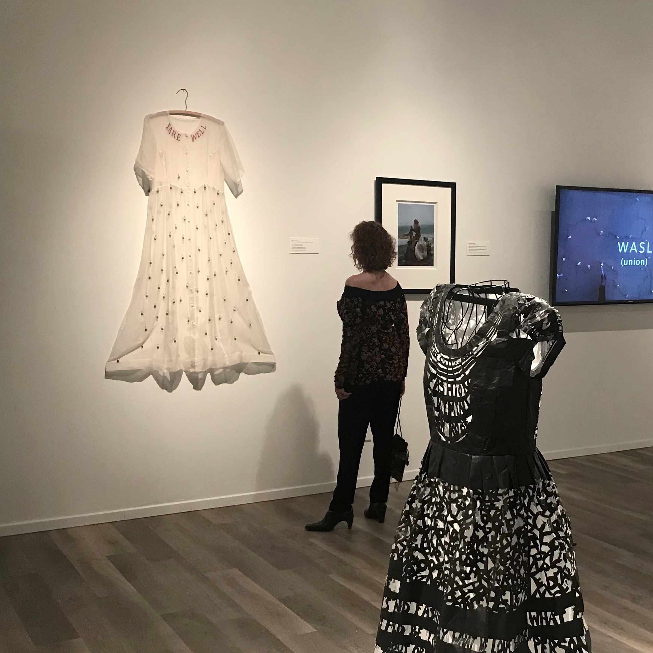 Opening reception of Dress Matters: Clothing As Metaphor