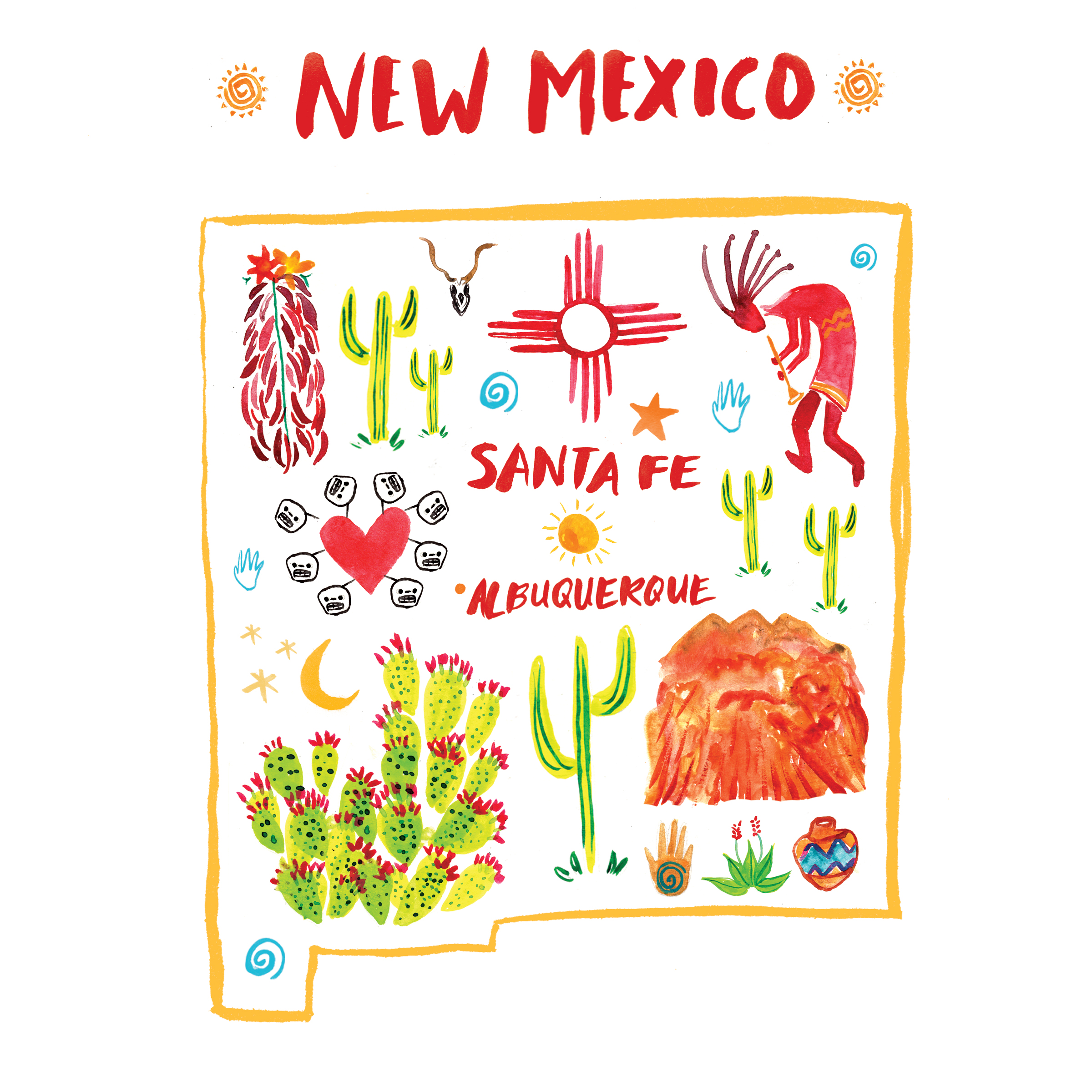 NEW MEXICO - Oh New Mexico, you truly are the Land of Enchantment. I saved one of my favorite places for last. 🏜 New Mexico felt like a wonderful dream with inspiration, color and culture at every corner. From the killer retro signs and Frontier Restaurant in Albuquerque; the amazing Georgia O'keefe museum and the shopping of handmade crafts in Santa Fe all left me filled with love and life. 🙌🏼 I can not wait to return one day to again climb the Sandia Mountain and be enchanted once more. 30/30 ✨🌵✨ That concludes my 30 places before 30! There are actually 4 more states that I wanted to include in this series but since that would make it over 30 places I plan to complete them after my birthday celebration! So stay tuned my friends! I want to thank everyone who followed along and for all the positive feed back. ✌🏼 There are so many different places all over the world that affect us in positive ways and that makes us all have something in common: LOVE.PLACES: SANTA FE, ALBUQUERQUE