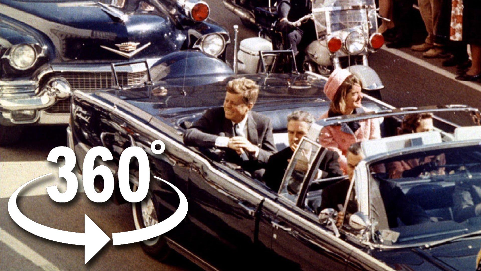 The JFK Assasination in 360 4K